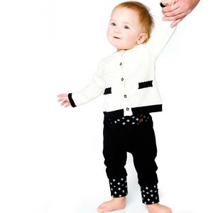 Baby Black Joggers Unisex. Brand New with Tags!